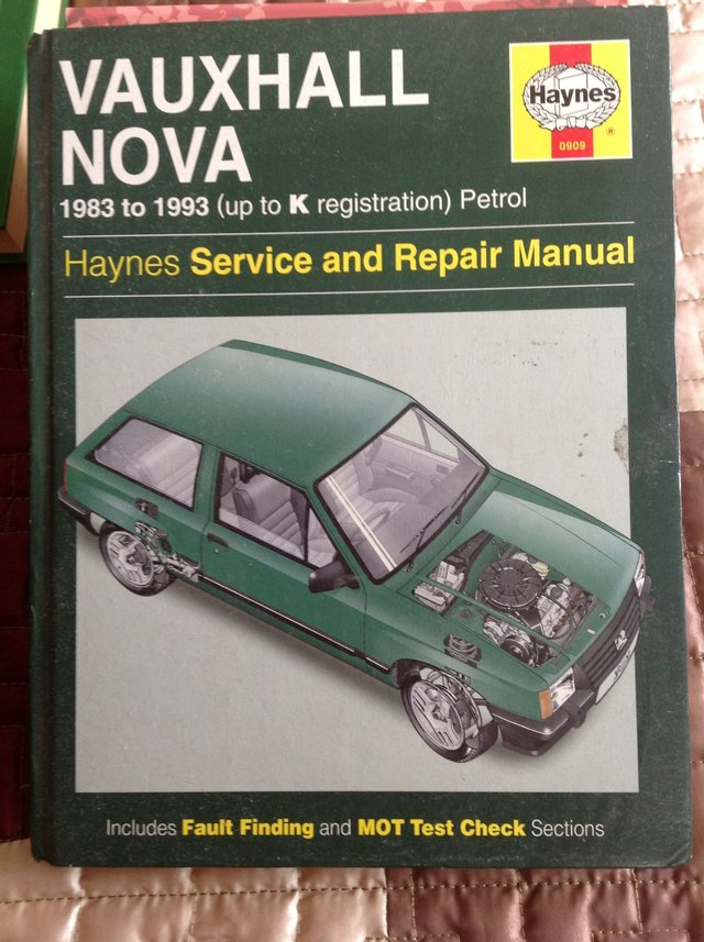 spares or repairs vauxhall nova local classifieds for sale preloved rh preloved co uk Haynes Repair Manual Online View Haynes Repair Manuals Online