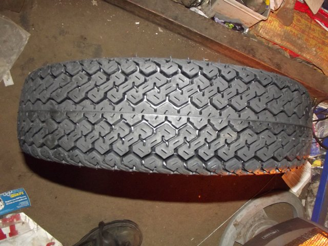 """Image 4 of CLASSIC MINI OR TRAILER 10"""" TYRES NEW 145 10"""