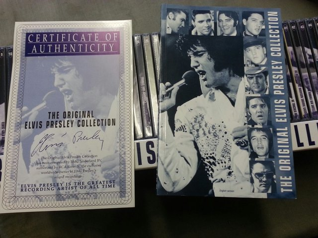 the original elvis presley collection boxset 50 cd