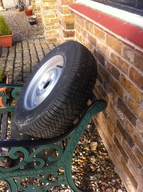 Preview of the first image of Caravan spare wheel.
