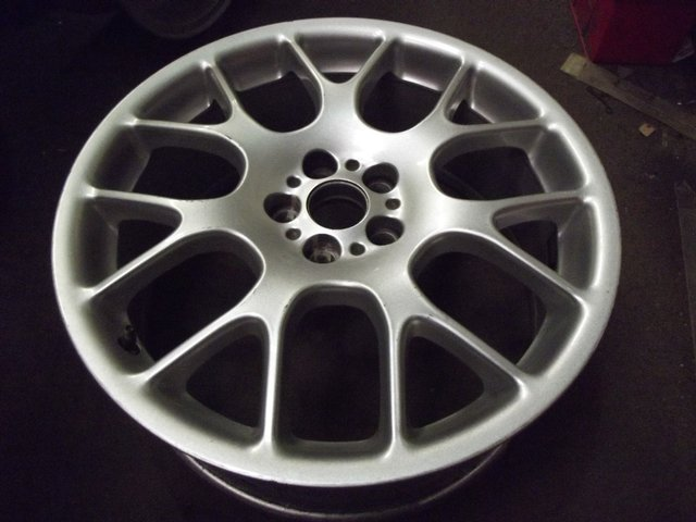 "Preview of the first image of ROVER MGZT OR 75 HAIRPIN ALLOY WHEELS 18"" AS NEW."