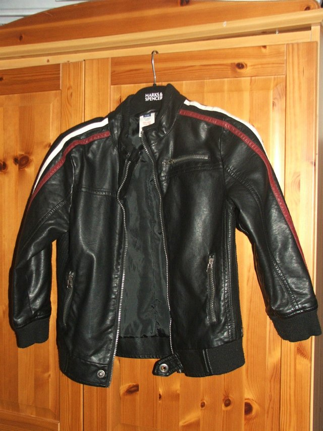 910a7ec6c boys leather jacket For Sale in Crewe