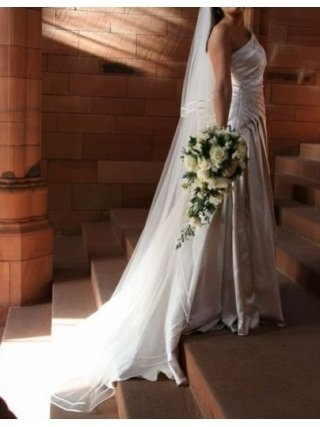 Image 2 of Stunning one shouldered Sincerity wedding dress