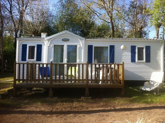 Preview of the first image of Luxury 6 Berth Mobile Home, Benodet, France.