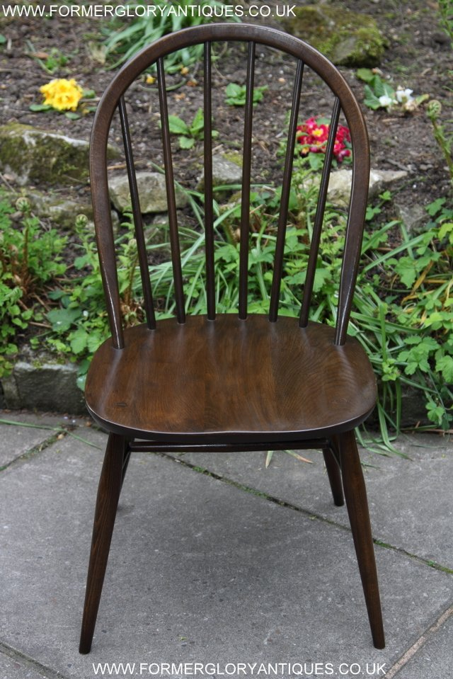 Image 2 of ERCOL WINDSOR OFFICE DESK BUREAU KITCHEN DINING TABLE CHAIR