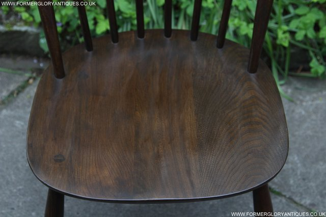 Image 3 of ERCOL WINDSOR OFFICE DESK BUREAU KITCHEN DINING TABLE CHAIR