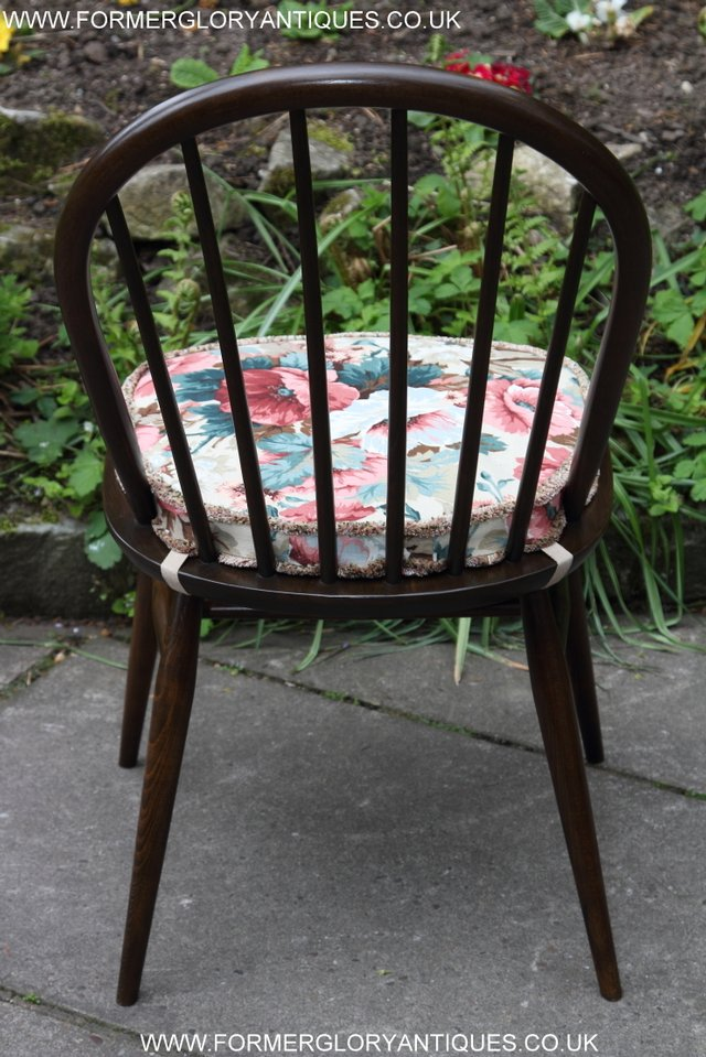 Image 9 of ERCOL WINDSOR OFFICE DESK BUREAU KITCHEN DINING TABLE CHAIR