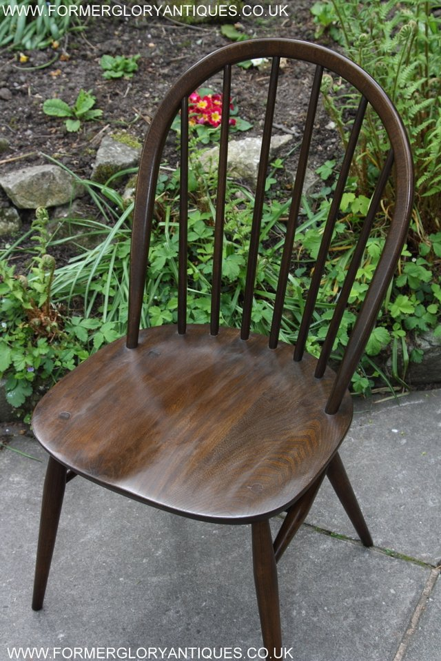 Image 10 of ERCOL WINDSOR OFFICE DESK BUREAU KITCHEN DINING TABLE CHAIR