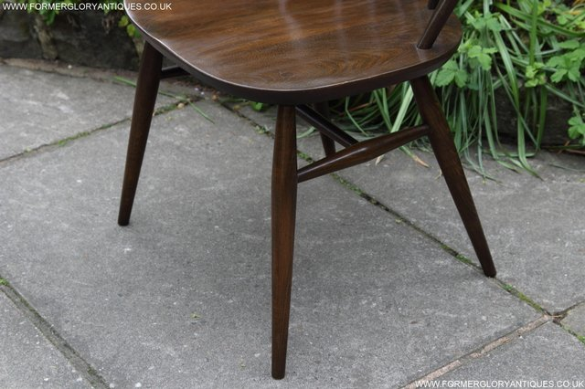 Image 18 of ERCOL WINDSOR OFFICE DESK BUREAU KITCHEN DINING TABLE CHAIR