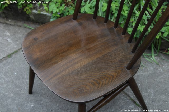 Image 20 of ERCOL WINDSOR OFFICE DESK BUREAU KITCHEN DINING TABLE CHAIR