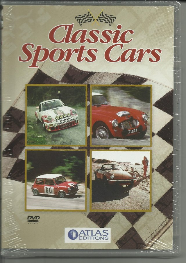 Preview of the first image of CLASSIC SPORTS CARS DVD. REGION 2-RUNNING TIME:53 MINS.