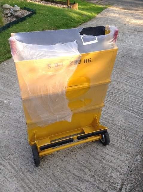 Image 3 of portable mobile wheelchair and loading ramp WCR003 van shop