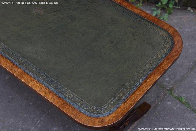 Image 12 of A BEVAN FUNNELL LEATHER OCCASIONAL COFFEE LAMP SOFA TABLE