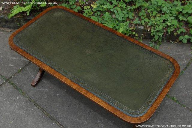 Image 17 of A BEVAN FUNNELL LEATHER OCCASIONAL COFFEE LAMP SOFA TABLE