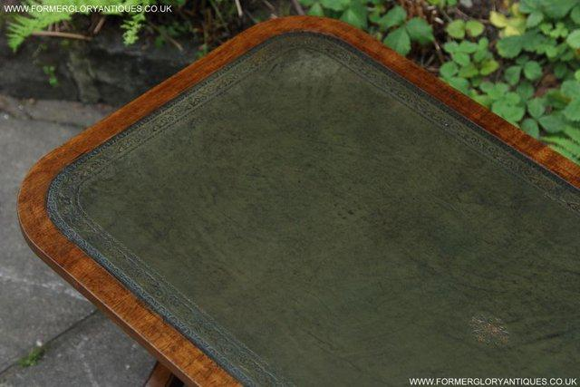 Image 27 of A BEVAN FUNNELL LEATHER OCCASIONAL COFFEE LAMP SOFA TABLE