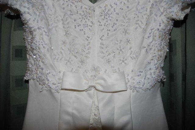 Image 2 of Beautiful Ivory Wedding Dress / Prom Dress