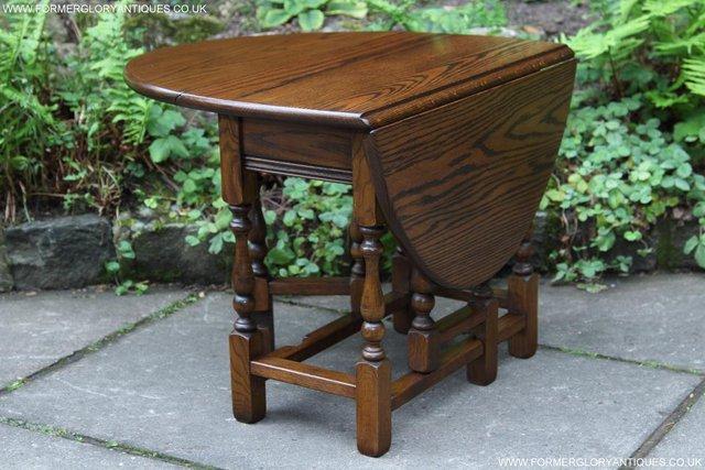 Old Charm Gateleg Coffee Table