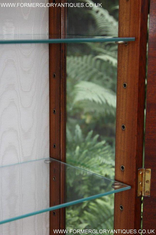 Image 5 of BEVAN FUNNELL MAHOGANY DISPLAY CHINA CABINET BOOKCASE