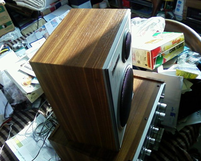 Image 2 of Stereo Twin Cassette & tuner & speakers
