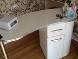 Nail station manicure table