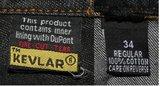 Biker jeans kevlar armored (size 34)