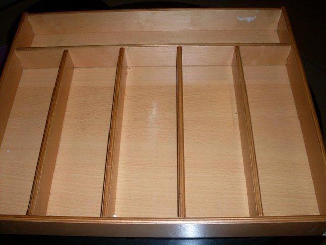Image 2 of Wooden Cutlery Tray