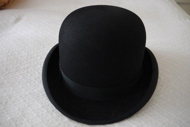 Image 2 of Vintage Dunn & Co Bowler Hat