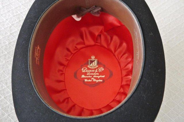 Image 3 of Vintage Dunn & Co Bowler Hat