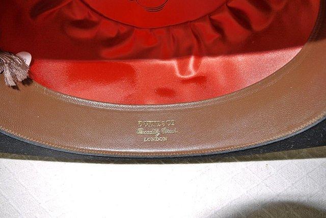 Image 5 of Vintage Dunn & Co Bowler Hat
