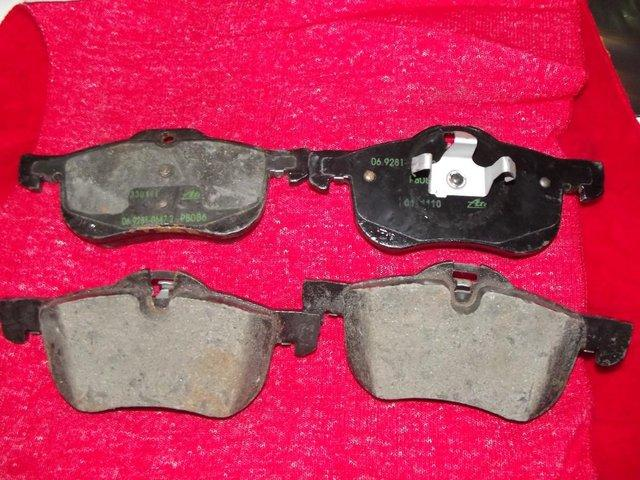 Preview of the first image of ROVER 75 OR MGZT BRAKE PADS GENUINE.