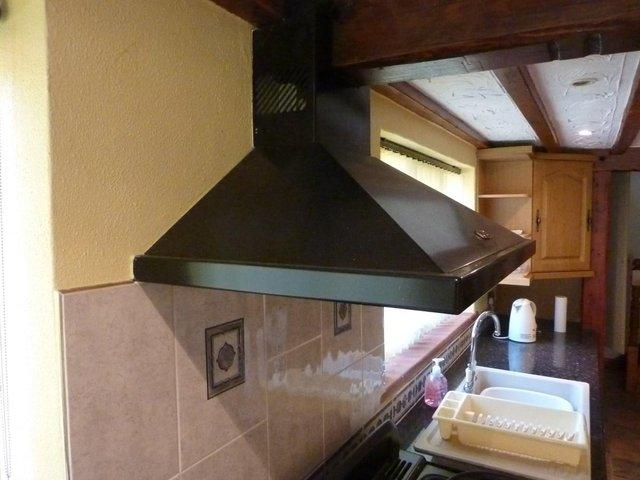 Preview of the first image of Rangemaster Chimney Cookerhood For Sale.