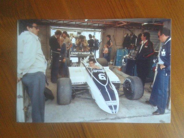 Image 2 of F1 Autographs: Hector Rebaque