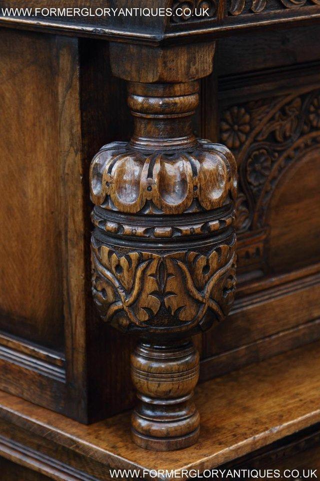 Image 7 of TITCHMARSH GOODWIN OAK SIDEBOARD DRESSER CABINET CUPBOARD