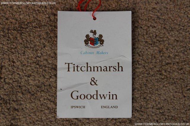 Image 10 of TITCHMARSH GOODWIN OAK SIDEBOARD DRESSER CABINET CUPBOARD
