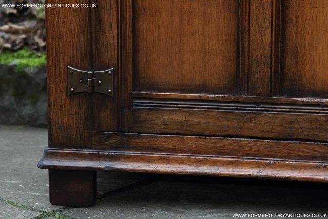 Image 23 of TITCHMARSH GOODWIN OAK SIDEBOARD DRESSER CABINET CUPBOARD