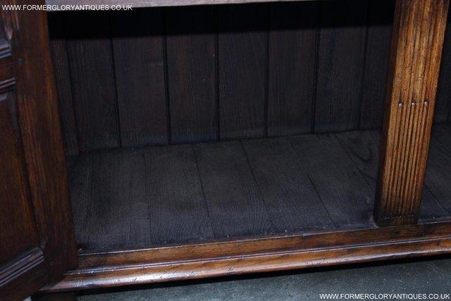Image 43 of TITCHMARSH GOODWIN OAK SIDEBOARD DRESSER CABINET CUPBOARD