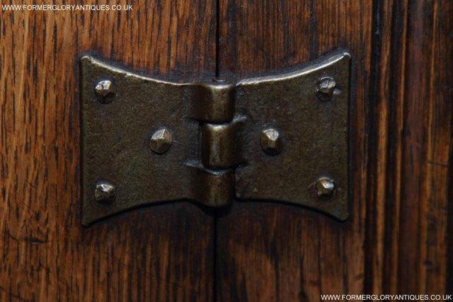 Image 48 of TITCHMARSH GOODWIN OAK SIDEBOARD DRESSER CABINET CUPBOARD