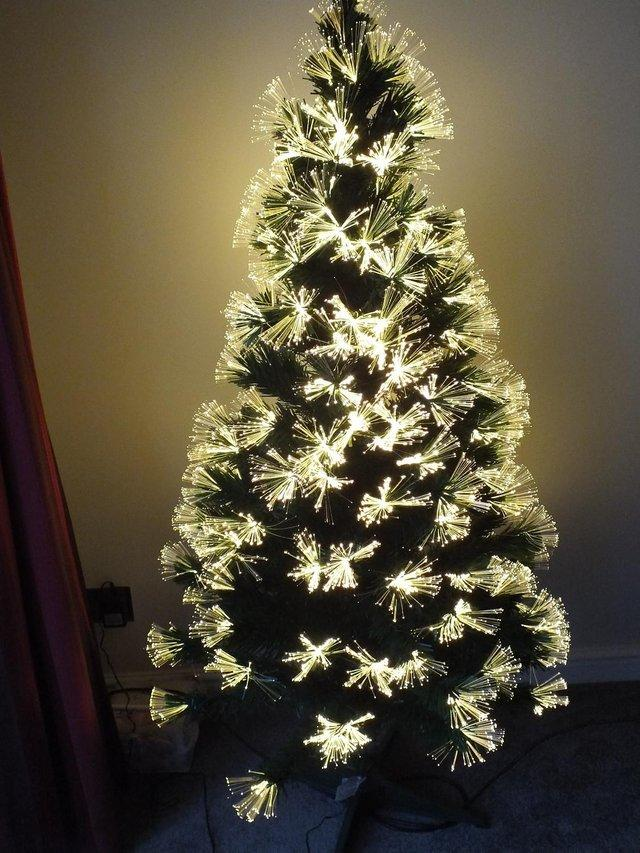 Premier Warm White Fibre Optic Christmas Tree (New) For Sale in ...