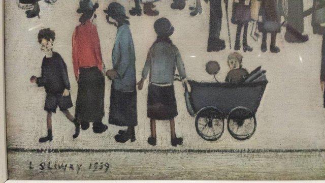 Image 3 of LS Lowry glazed copy of print