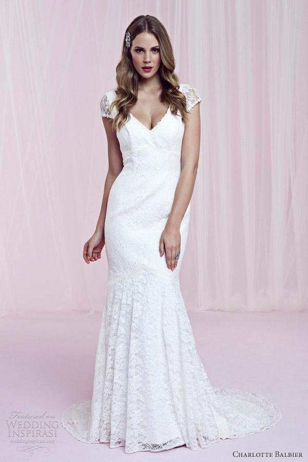 Preview of the first image of Charlotte Balbier Edith wedding dress size 10-12.