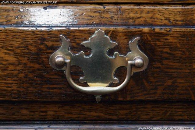 Image 9 of TITCHMARSH GOODWIN STYLE OAK WELSH DRESSER BASE SIDEBOARD