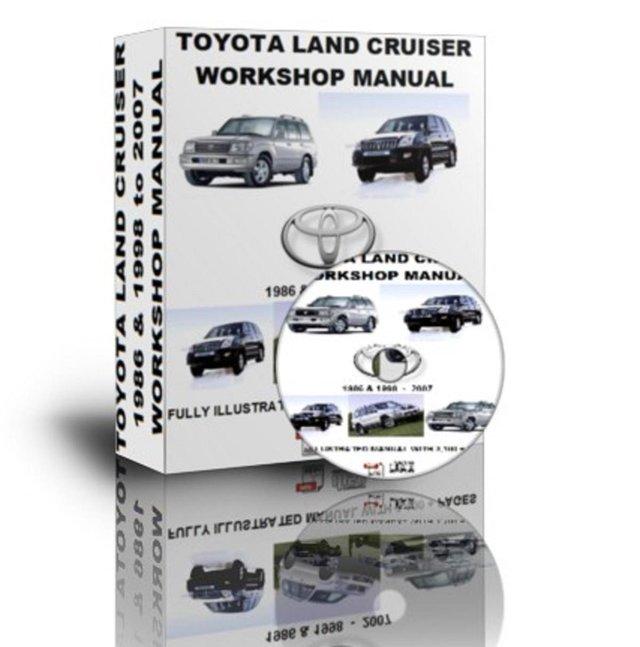 1998 toyota land cruiser repair manual