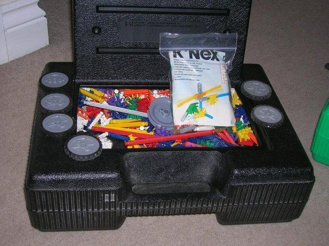 Preview of the first image of K-Nex 2.5kg black case.