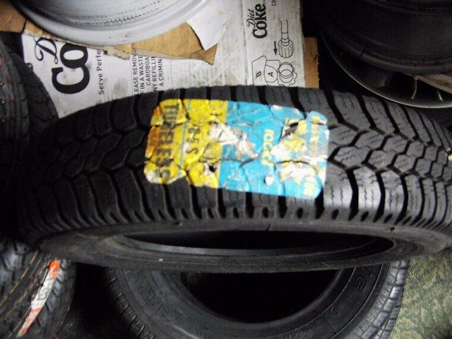 Preview of the first image of CLASSIC METRO Mk 1 - FIAT 600 OR TRAILER TYRES NEW 135 X 12.