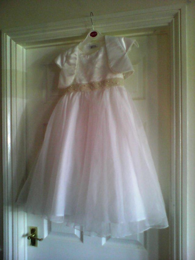 childs bridesmaid dress age 8 (BHS) For Sale