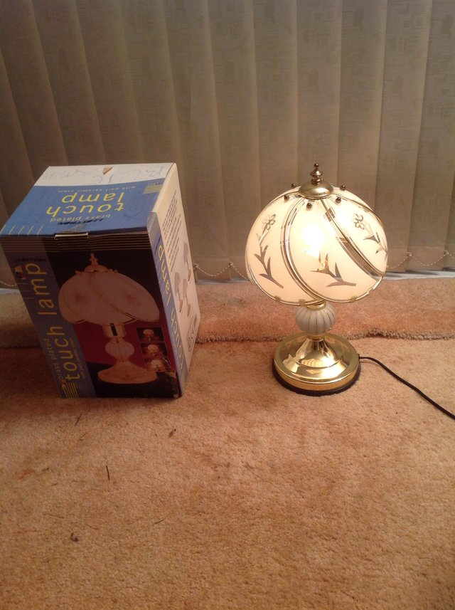 Bedside Touch L& & lamps - Second Hand Lighting For Sale in Devon | Preloved