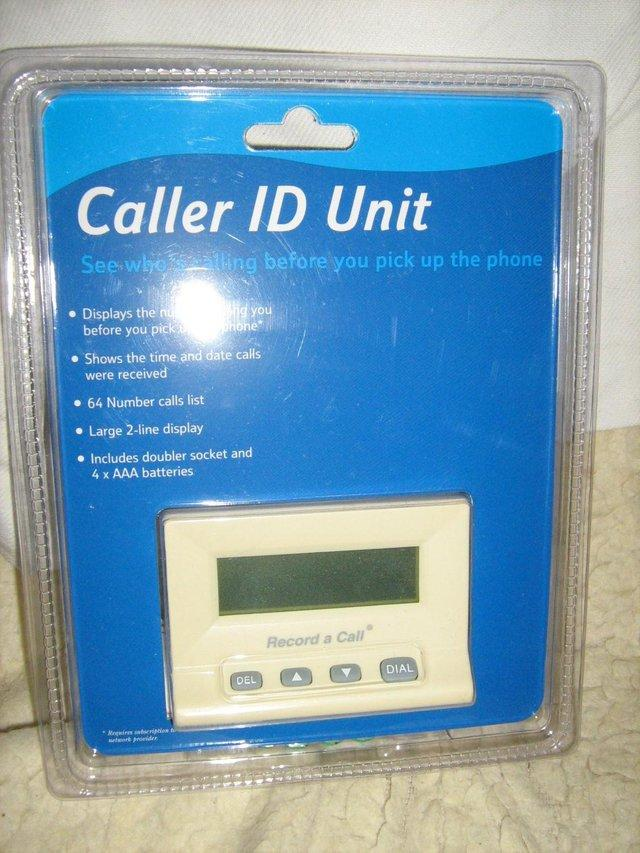 Preview of the first image of TELEPHONE CALLER ID UNIT / LOUD EXTENSION BELL/ MODEM NEW.
