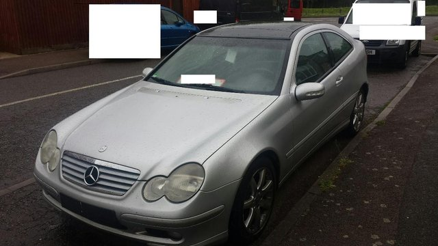 e8f8036726 Left hand drive mercedes C230 kompressor coupe LHD For Sale in ...