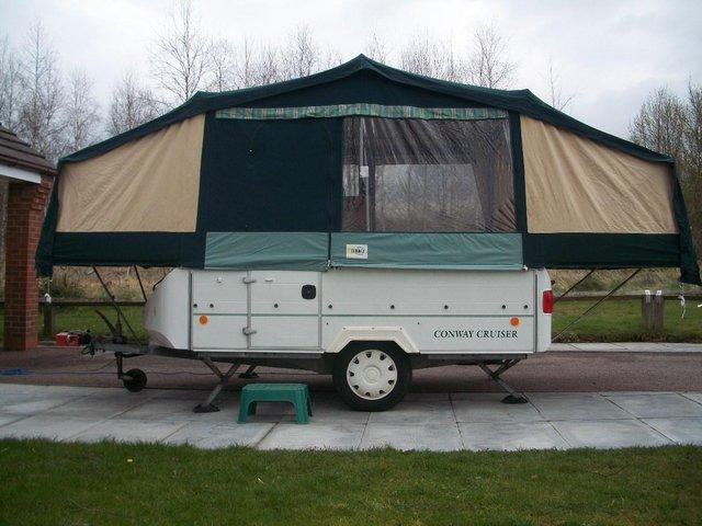 Image 2 of WANTED ANY CONWAY OR PENNINE FOLDING CAMPER / TRAILER TENT
