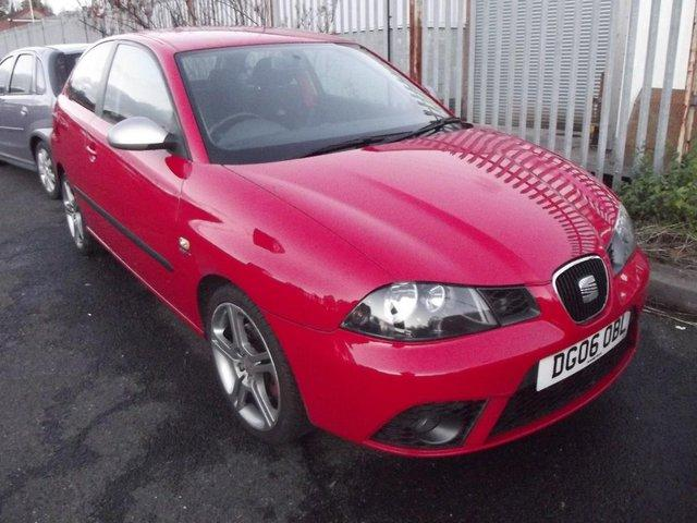 Preview of the first image of SEAT IBIZA FR 1800CC FULL MOT 2006 GREAT CONDITION.